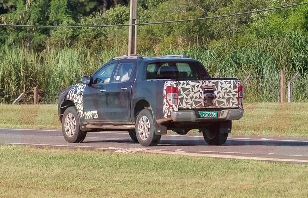 Nova Ford Ranger é flagrada em testes (Foto: Divulgação)