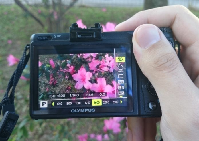 Visualizar resultado da foto logo após captura era impossível nas câmeras antigas (Foto: Pedro Zambarda/TechTudo)