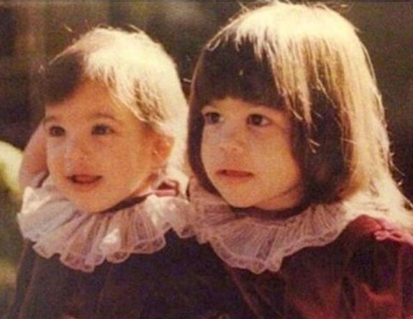 Kim Kardashian e Kourtney Kardashian crianças (Foto: Reprodução/Instagram)
