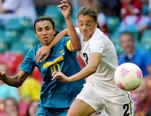 Marta brasil ria percival áfrica do sul futebolç londres 2012 (Foto: Agência Reuters)