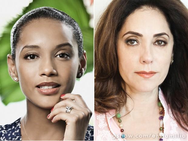 Taís Araújo e Christiane Torloni emocionaram o país ao interpretar a heroína do autor (Foto: Marcelo Correa/TV Globo)