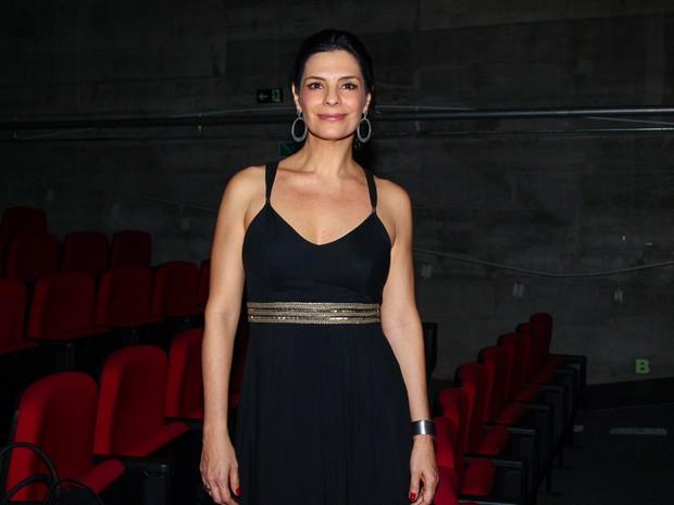 Helena Ranaldi em teatro em São Paulo (Foto: Manuela Scarpa/ Foto Rio News)