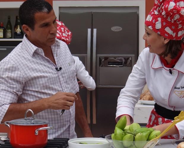 Prova Imunidade (Foto: Mais Você/ TV Globo)