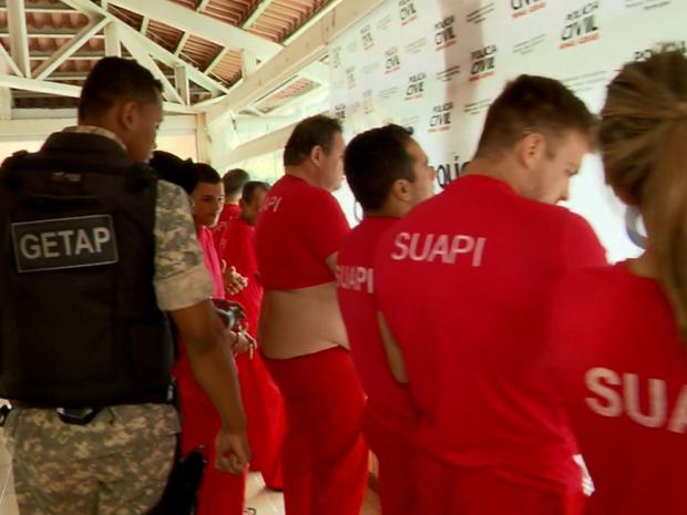 Operação 'Micareta' prende suspeitos de tráfico de drogas em Campo Belo (MG) (Foto: Reprodução EPTV)