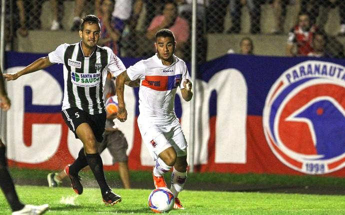 Zé Leandro e Carlinhos jogo do Paraná e Maringá (Foto: Geraldo Bubniak / Agência Estado)