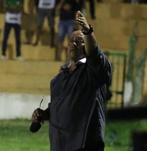 Adelmo Soares, técnico do Picos (Foto: Renan Morais/GloboEsporte.com)