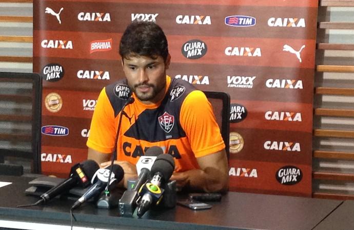 Pedro Ken, jogador do Vitória (Foto: Rafael Santana)
