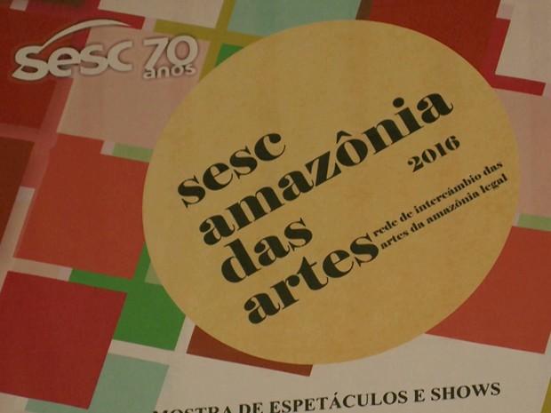 'Sesc  Amazônia das Artes' teve início no último dia cinco de maio em São Luís (Foto: Reprodução/TV Mirante)