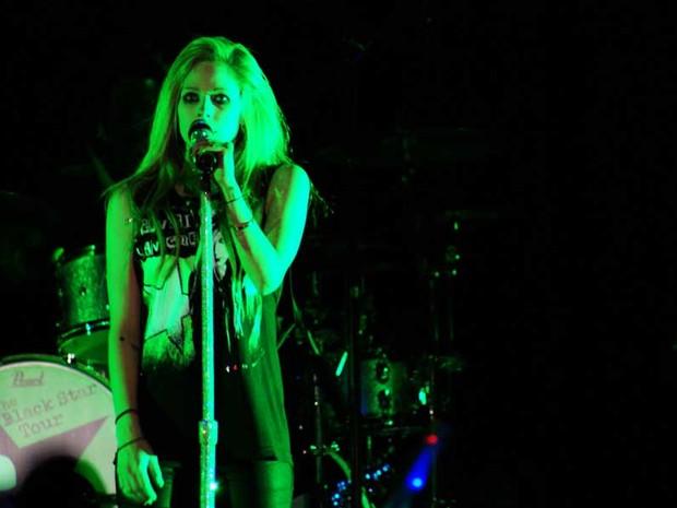 Avril Lavigne encerra turnê no Brasil (Foto: Nina Quintana / Divulgação)