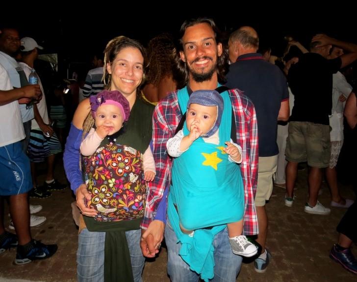 Júnior Costa e família