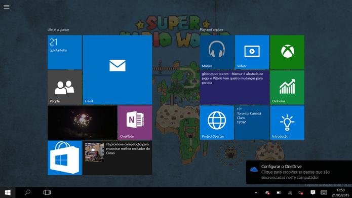 Windows 10 se aproxima da versão final com boas novidades para mouse, teclados e telas touchscreen (Foto: Reprodução/Elson de Souza) (Foto: Windows 10 se aproxima da versão final com boas novidades para mouse, teclados e telas touchscreen (Foto: Reprodução/Elson de Souza))