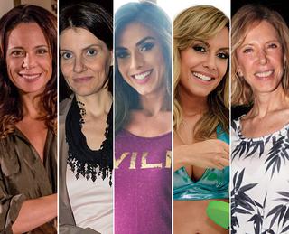 Elas preferem os mais novos - Vanessa Gerbelli, Malga Di Paula, Nicole Bahls, Lia Khey e Marília Gabriela (Foto: Ego)