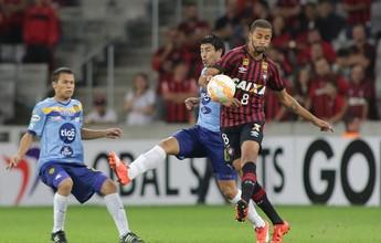 Com eliminação, Atlético-PR completa o sexto ano seguido sem um título