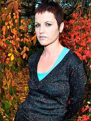 Dolores O'Brian, vocalista do The Cranberries (Foto: Divulgação)