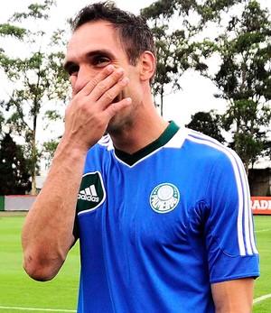 Fernando Prass Palmeiras  (Foto: Marcos Ribolli)
