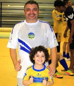 Oleno Matos vai comandar o já classificado Constelação na Taça Brasil de Futsal 2017 (Foto: Imagem/Tércio Neto)