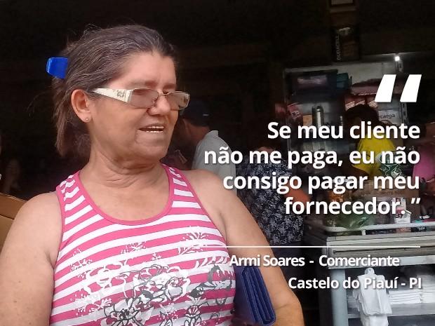 Armi Soares - Castelo do Piauí (Foto: Gilcilene Araújo/G1)