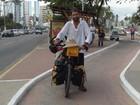 Argentino que viajou o mundo de bicicleta volta a AL depois de 14 anos