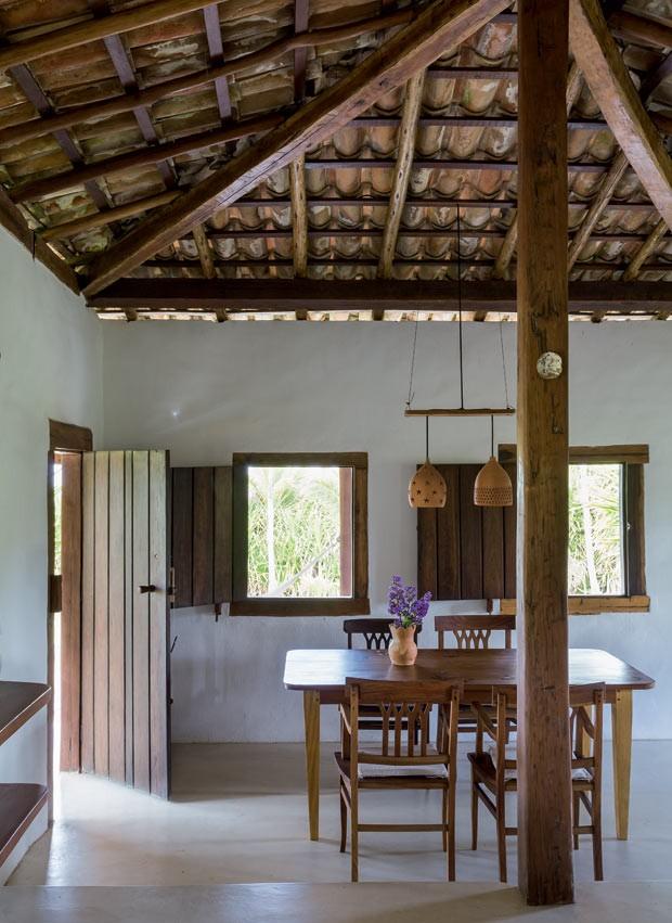 Sala De Jantar Casas Bahia ~ saladejantarpisodecimentoqueimadomesadejantarcommarchetaria
