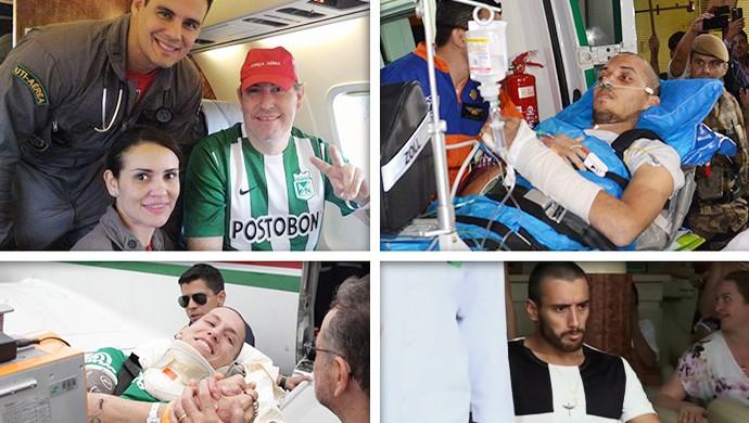 Mosaico Chape 1 mês 3 (Foto: GloboEsporte.com)