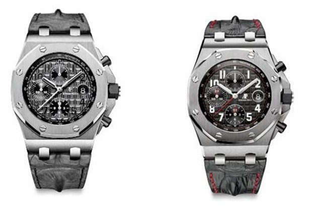 efecc436df6 Novo relógio esportivo da Audemars Piguet possui osso de crocodilo na  pulseira. O hornback confere um detalhe diferencial ao Royal Oak Offshore  ...