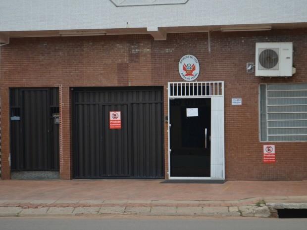 Consulado Peru Acre (Foto: Tácita Muniz/G1)