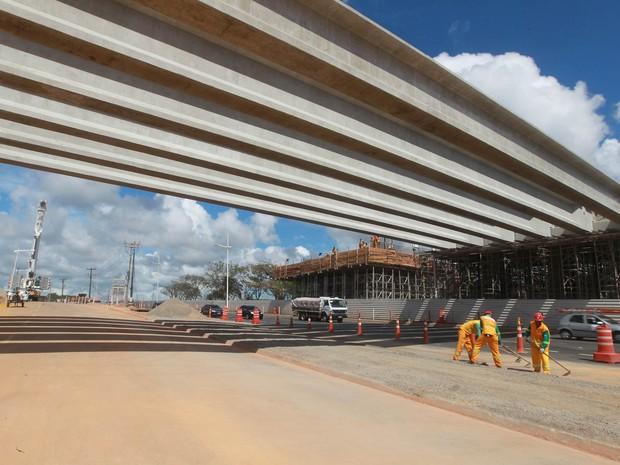 Obras Paralela Bahia (Foto: Camila Souza/GOVBA)