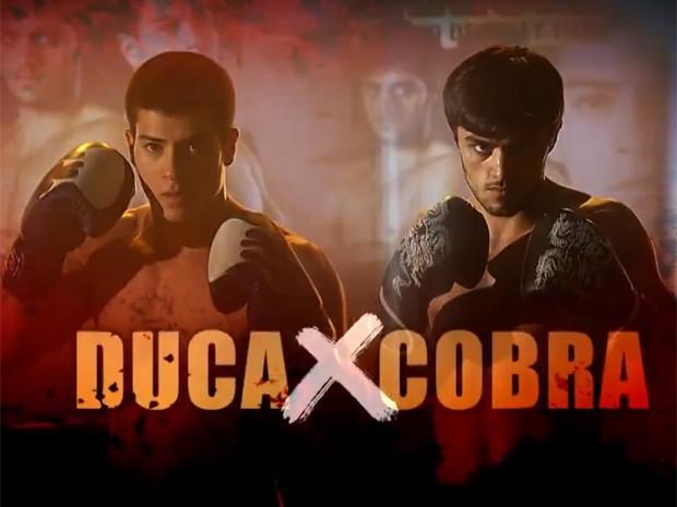 A grande final entre Duca e Cobra vai começar! (Foto: TV Globo)