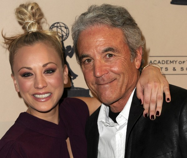 Kaley Cuoco e Gary Cuoco (Foto: Getty Images)