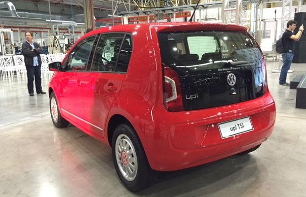 Volkswagen apresenta novo motor 1.0 turbo (Foto: Michelle Ferreira)