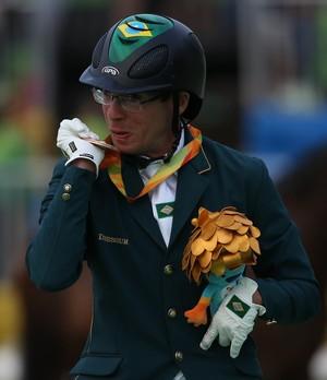 Hipismo - Adrestramento sergio oliva bronze - rio 2016 paralimpíada (Foto: Cleber Mendes/MPIX/CPB)