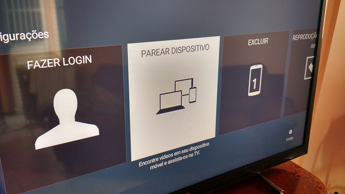 Acessando as configurações para parear dispositivos (Foto: Felipe Alencar/TechTudo)