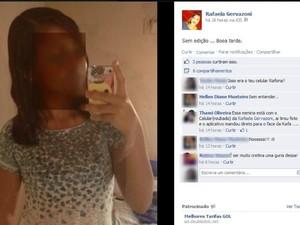 Estudante faz campanha para encontrar jovem que está com seu iPhone (Foto: Reprodução/TV Acre)