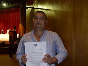 Candidatos do concurso da educação tomam posse no Amapá (Foto: Cassio Albuquerque/G1)