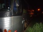 Idoso de 81 anos morre atropelado por ônibus de turismo na BR-153