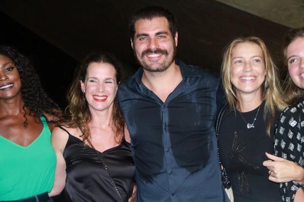 Cris Vianna, Vanessa Lóes, Thiago Lacerda e Luana Piovani (Foto: Graça Paes/ Ag. Brazil News)