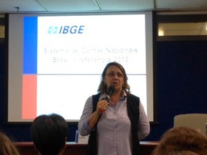 Wasmalia Bivar, presidente do IBGE (Foto: Cristiane Cardoso/G1)