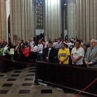 Missa reúne militantes na Catedral da Sé  (Rosanne D'Agostino/G1)
