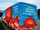 Hemóvel coleta doações de sangue em shopping na Barra, em Salvador