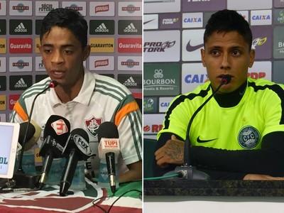 Felipe Amorim Fluminense Dudu Coritiba (Foto: Felippe Costa e Monique Silva)