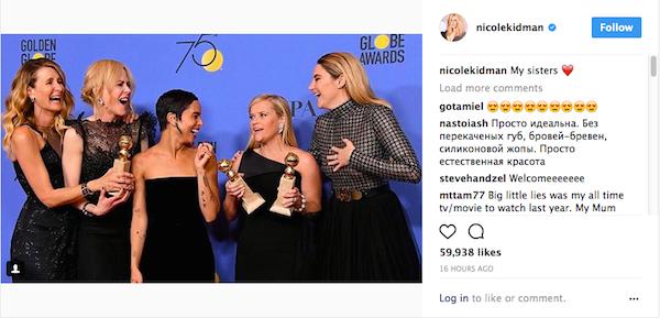 A segunda foto compartilhada por Nicole Kidman em sua conta no Instagram (Foto: Instagram)