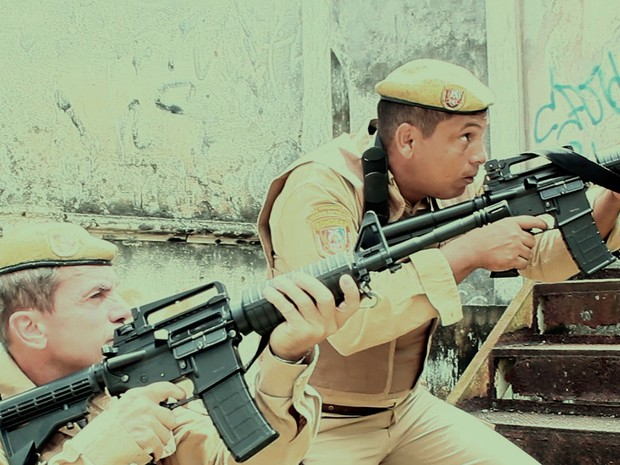 O longa metragem Rondesp Tropa de Elite Bahia é uma ficção policial (Foto: Divulgação)