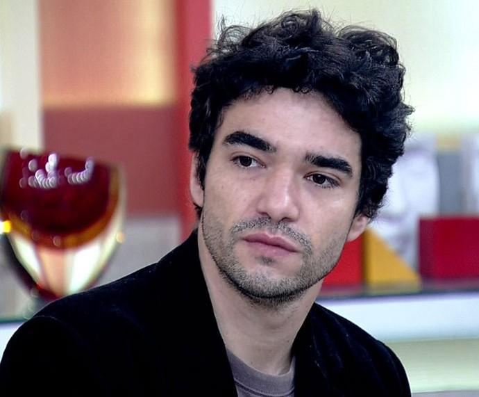 Caio Blat comenta sobre preconceito no 'Encontro' (Foto: TV Globo)