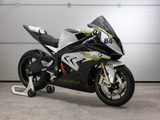 BMW eRR, moto esportiva elétrica da marca alemã (Foto: Divulgação)