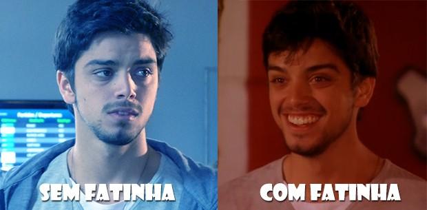 Com Fatinha, sem Fatinha!!! (Foto: Malhação / TV Globo)