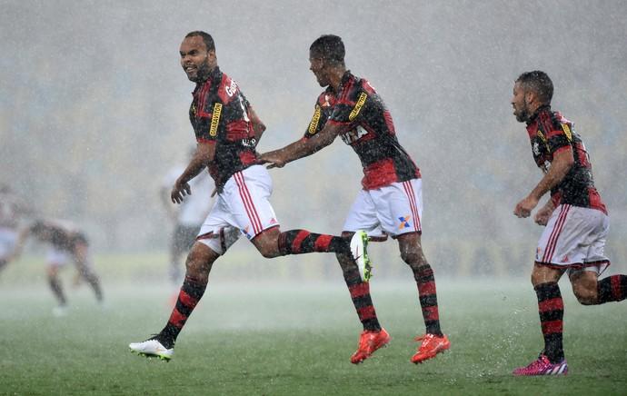 Flamengo x Vasco - Alecsandro comemora gol (Foto: André durão)