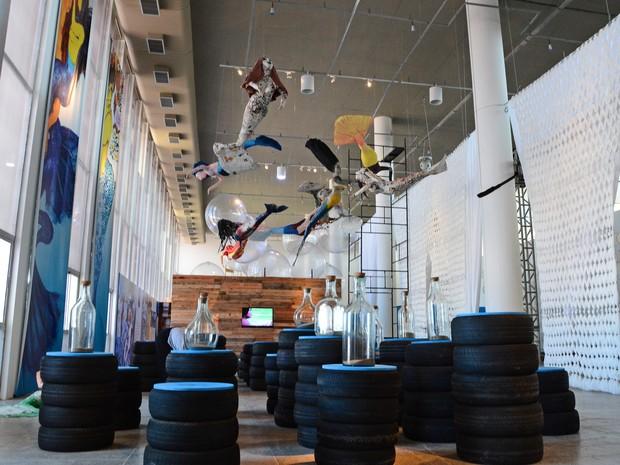 Exposição Fúria da Sereia é aberta oficialmente nesta quinta-feira e vai até o dia 14 de fevereiro (Foto: Divulgação/Secom-JP)
