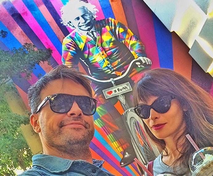 Tanto Márcio como Jacqueline passaram por Malhação (Foto: Arquivo Pessoal)