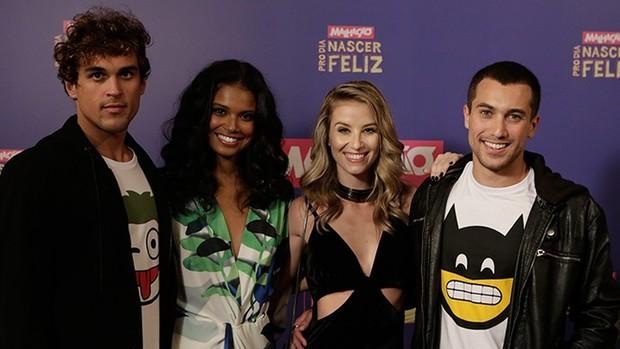 Nova 'Malhação': elenco se reúne com a imprensa (Fábio Rocha / Gshow)