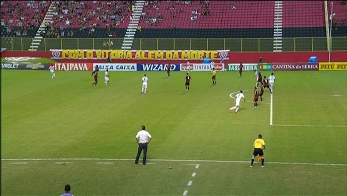 Vitória x América-MG pela Brasileirão Série B (Foto: Reprodução/ Premiere)